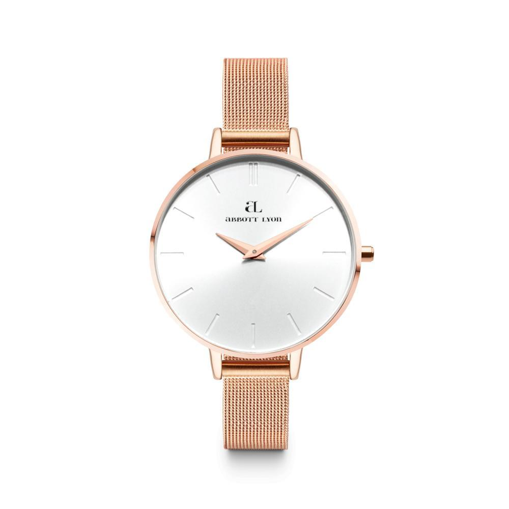 Rose Gold Chain Minimale 38 (Rose/White)