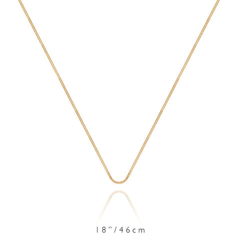 Short Chain Necklace (Gold)