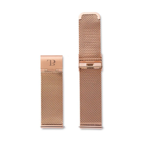 Rose Gold Chain 40 Strap (Rose)