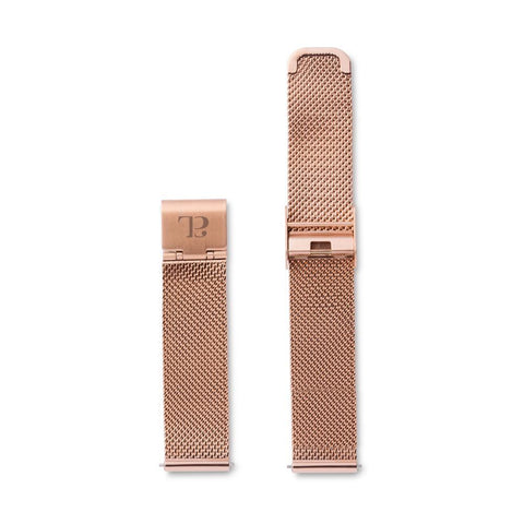 Rose Gold Chain 34 Strap (Rose)