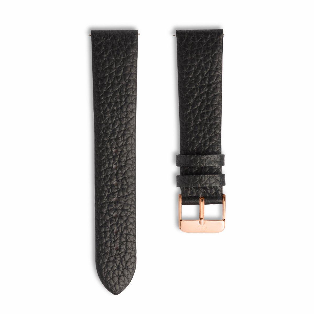 Jet Black 40 Strap (Rose Gold)