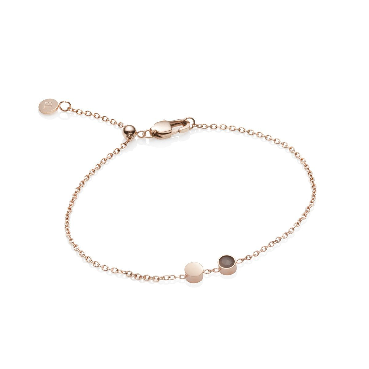 Little Luxe Bijou Bracelet (Rose Quartz/Blush)