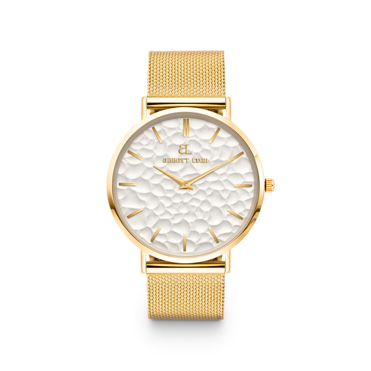 Gold Chain La Ponche 40 (Gold/White)