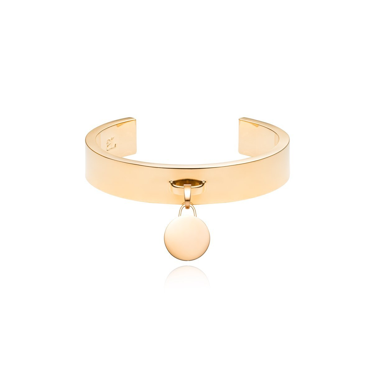 Luna Small Charm Bangle (Gold)
