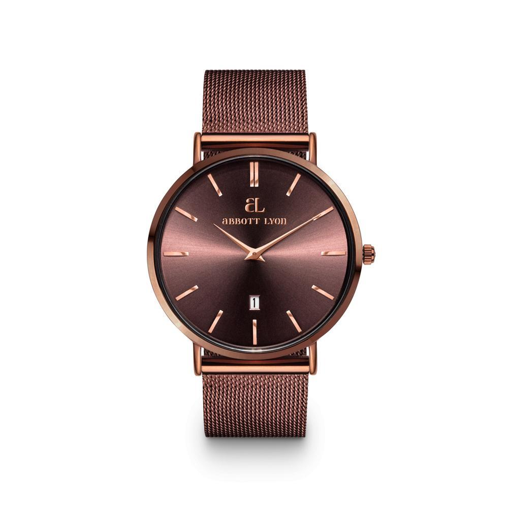 The Original Coffee coloured Mesh Watch