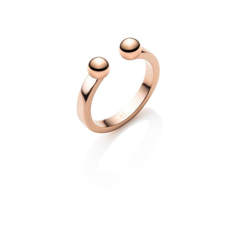 Droplet Ring (Rose Gold)