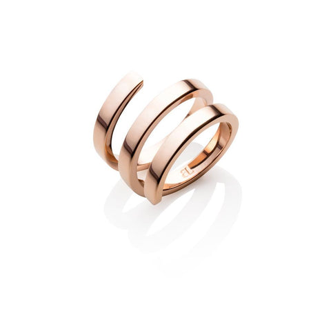 Double Entwine Ring (Rose Gold)