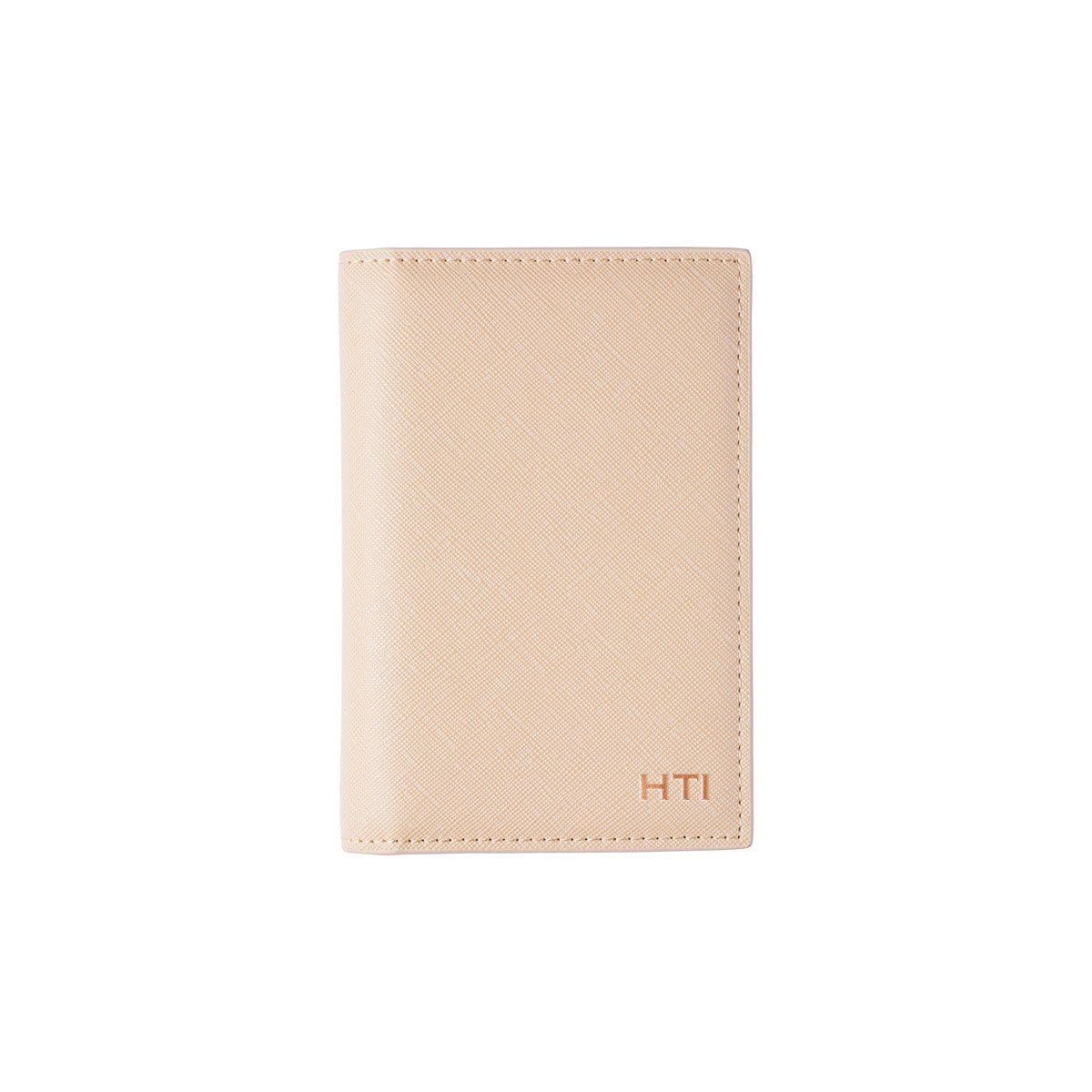 Sand Nude Santana Passport Holder