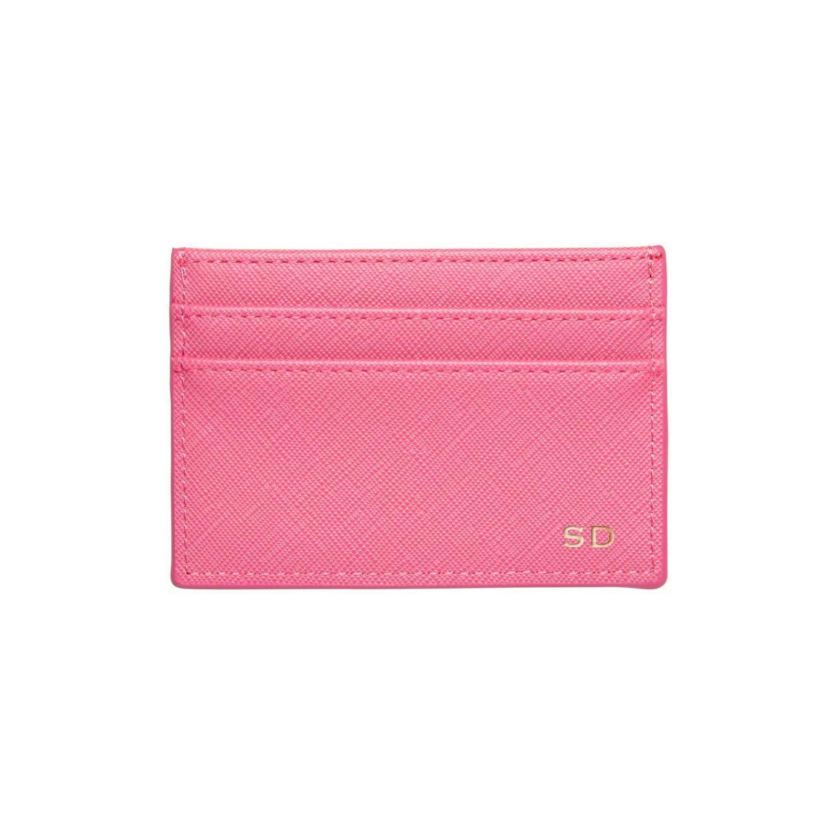 Flamingo Pink Clea Card Holder