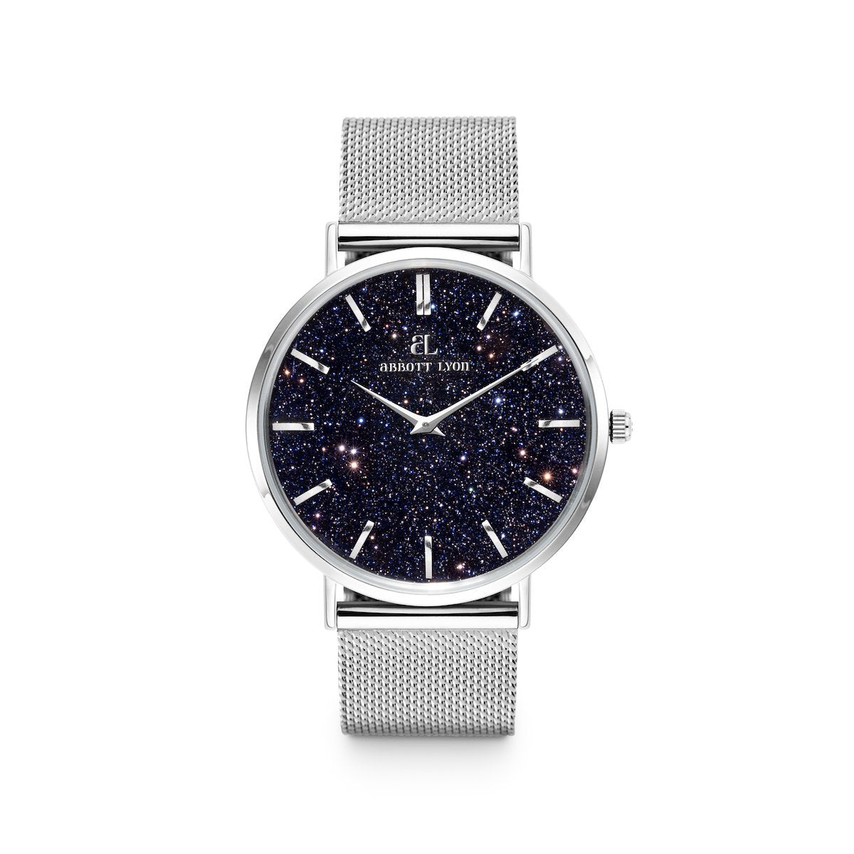 Silver Chain Estrella 40 (Silver/Midnight Blue)