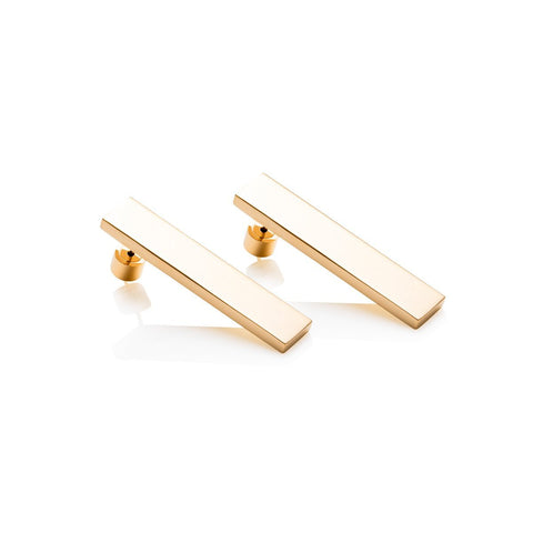 Lineare Earrings (Gold)