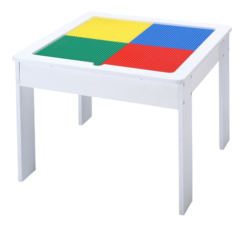 WOODEN TABLE - WHITE