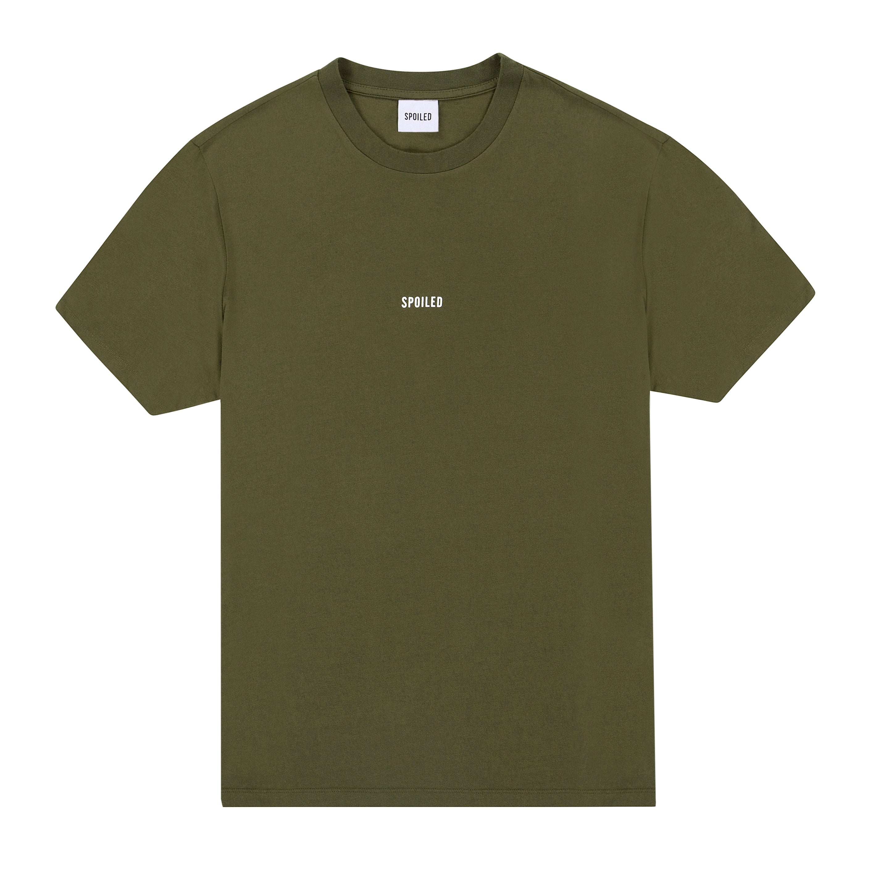 Basic Tee Logo Green Military
