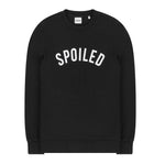 Curved Logo Sweater Black