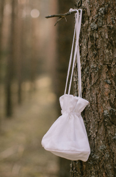 Linen Wedding Reticule