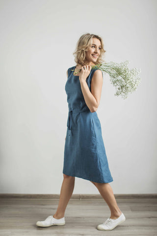 Linen sundress