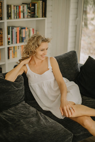 Linen nightgown