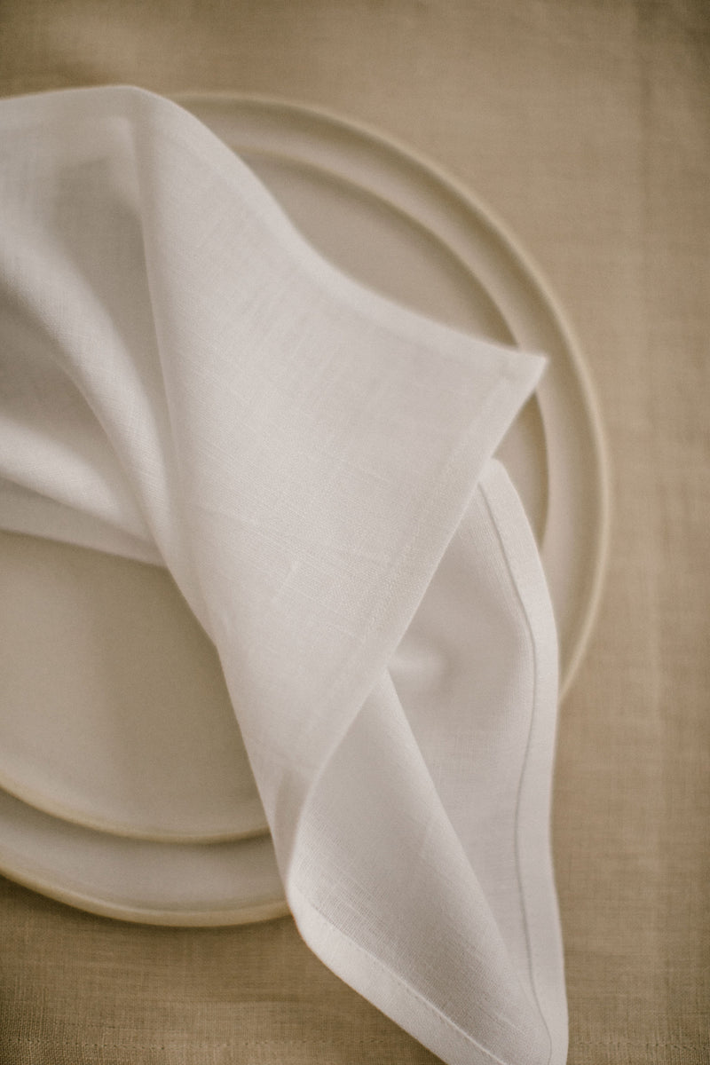Linen Napkins Set Of 4