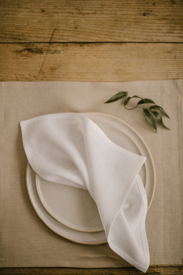 Linen Napkins Set Of 12