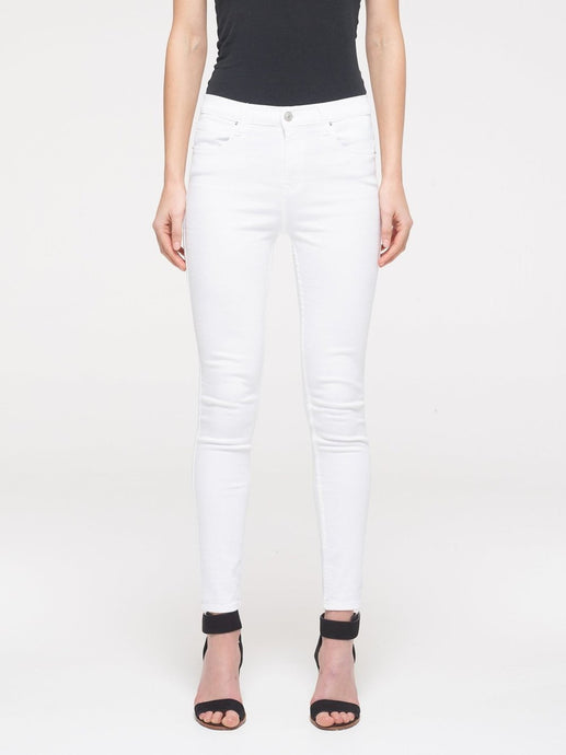 LTB Tanya X High Skinny - White