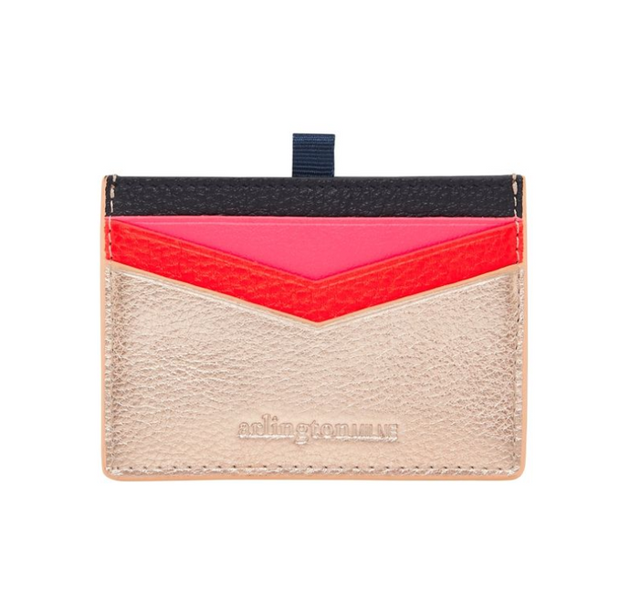 Alexis Cardholder - Rose Gold Multi