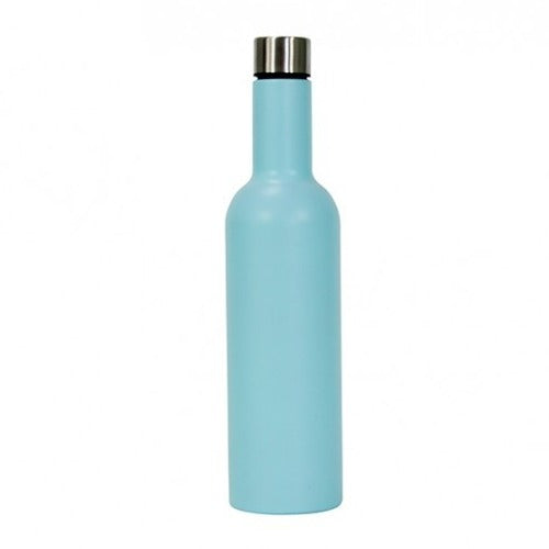 Insulated Wine Bottle - Blue
