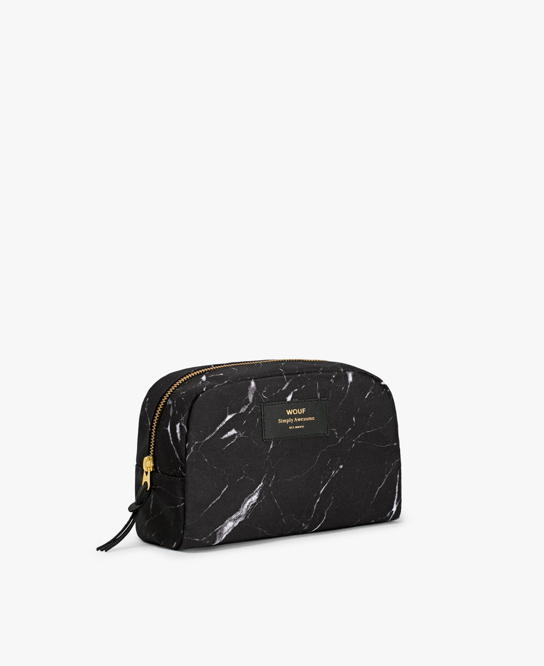 WOUF Cosmetic Bag - Black Marble