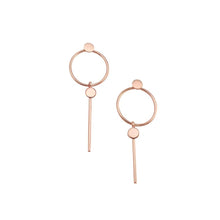 Miranda Earrings - Rose Gold