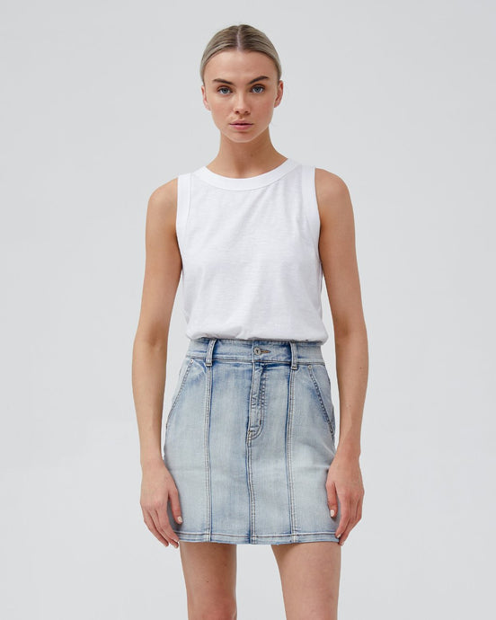 Gia Denim Skirt - Vintage Wash