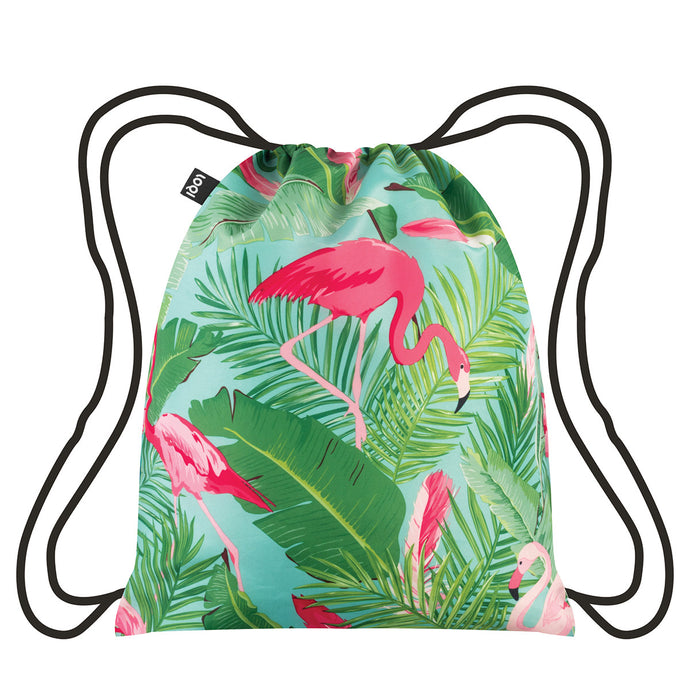 LOQI - Backpack Flamingos