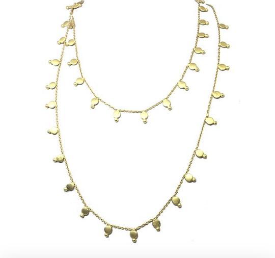 Maharani Matte Glod Necklace