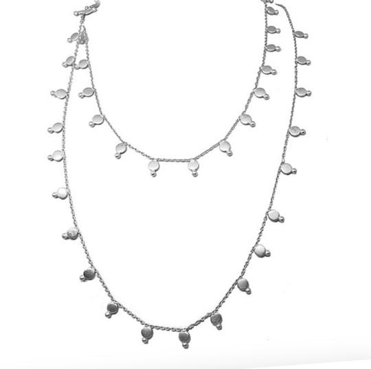 Maharani Necklace Matte Silver