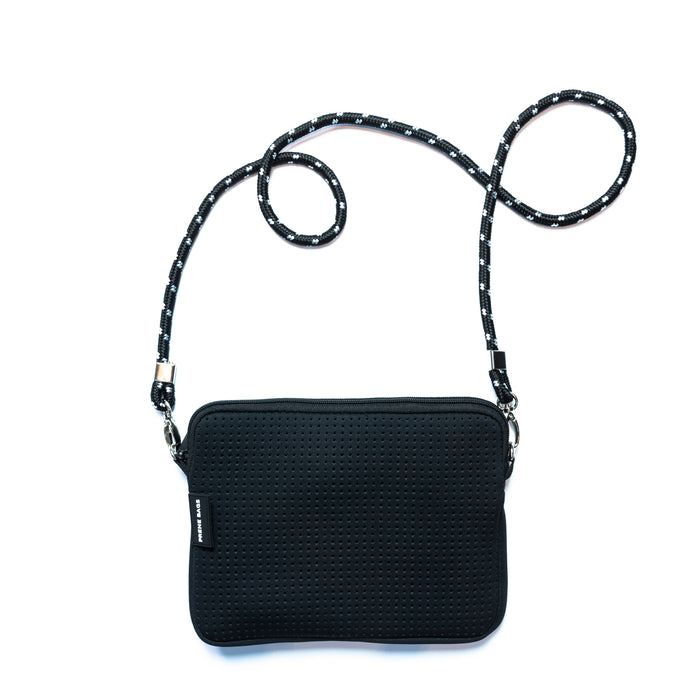 Prene - Pixie Crossbody Bag - Black