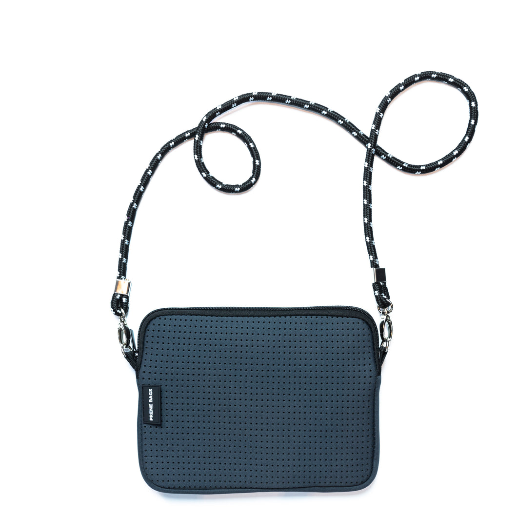 Prene - Pixie Crossbody Bag - Charcoal