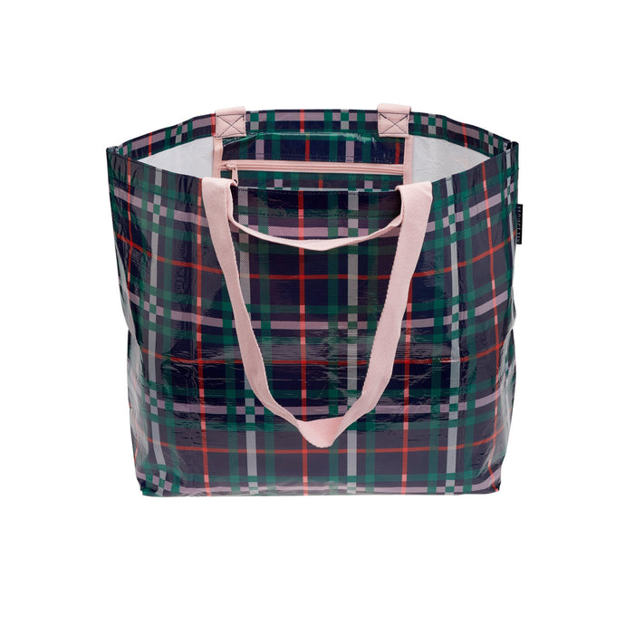 Medium Tote - Plaid