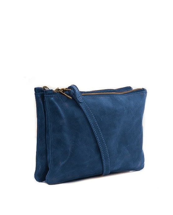 Zemp Paddington Crossbody/Clutch - Navy