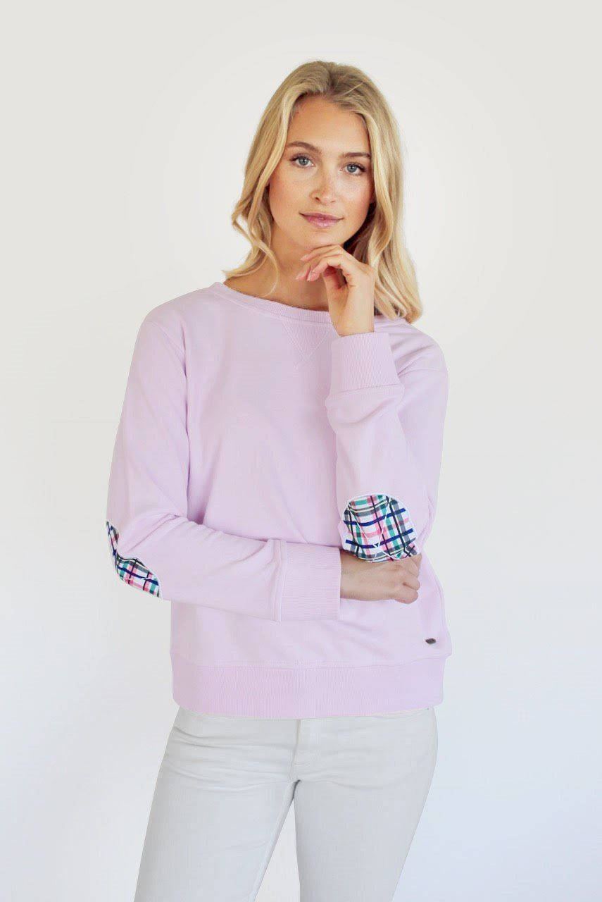 Bright Plaid Windy - Powder Pink
