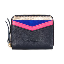 Alexis Zip Purse - Navy Rose Gold