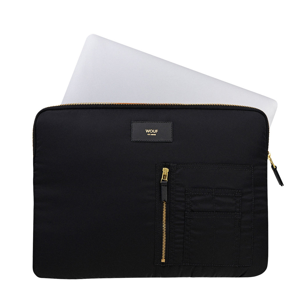 WOUF Laptop Sleeve - Bomber Black