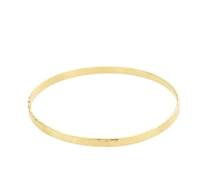 Hammered Gold Filled Bangle