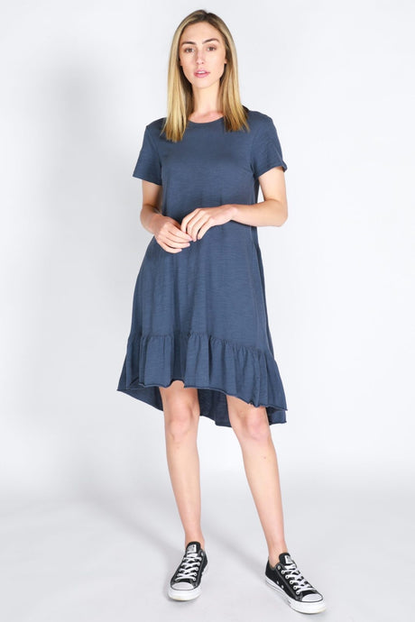 Sienna Dress - Indigo