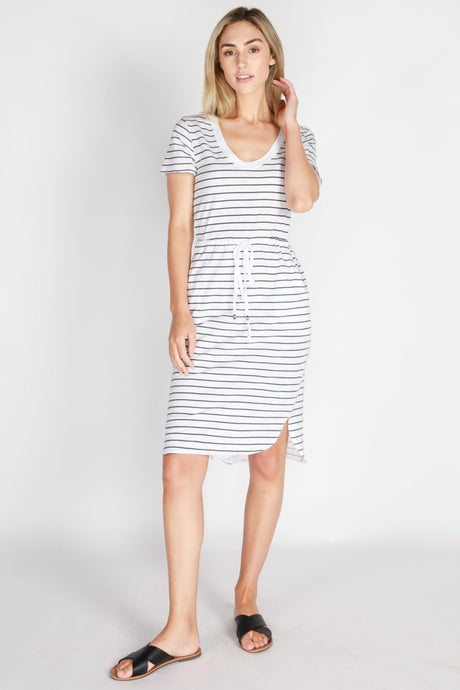 Tess Dress - Stripe