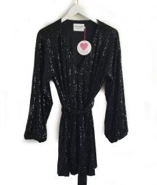 Sequin Dress - Black
