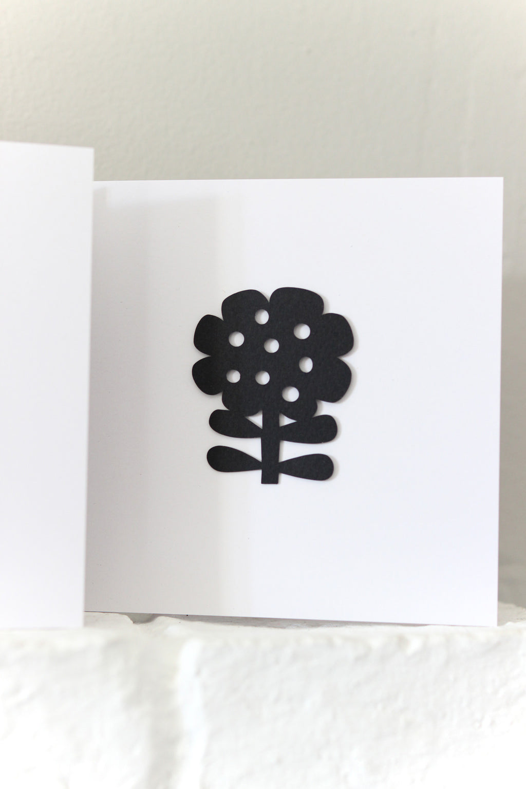 Flower Paper Cut Card