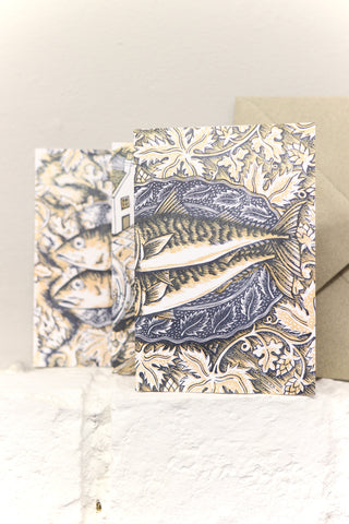 Fold-Out Fish Greetings Card