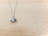 Silver & Blue Necklace
