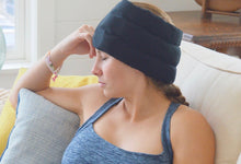 Headache Hat Wearable Ice Pack: Standard Size.  (Video link Below)