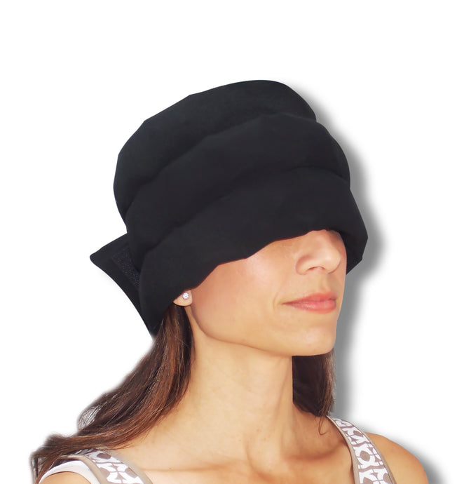Headache Hat Wearable Ice Pack: Standard Size- (Video link Below)