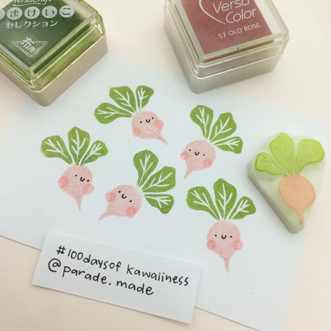radish stamp parademade singapore