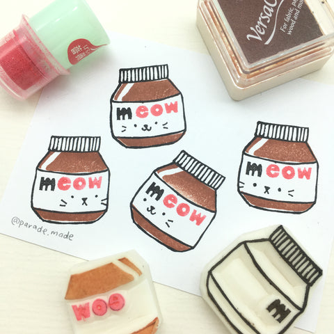 nutella stamp parademade singapore